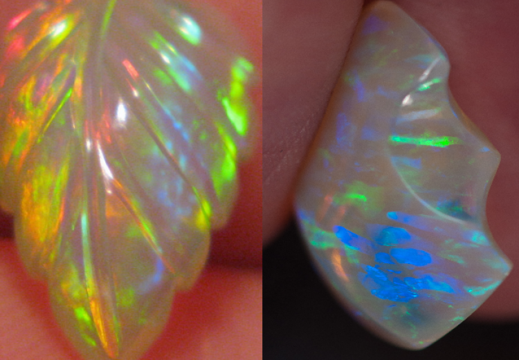 examples of Ethiopian opal pictures