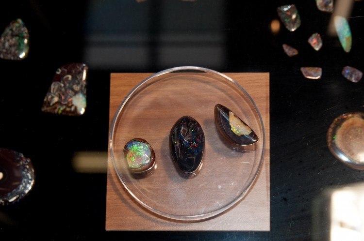 boulder opal at the munich show