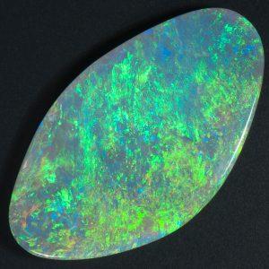 Flat Dome Pinfire Opal