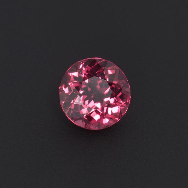 Pink Garnet Round Cut