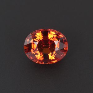 Orange Garnet Oval1.9ct