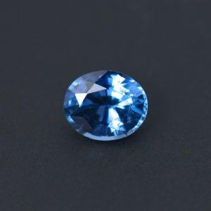 Light Blue Sapphire Oval 0.75 ct