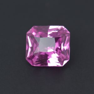 Pink Sapphire Radiant Cut 1.74 ct