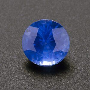 Round Blue Sapphire 1.1 ct