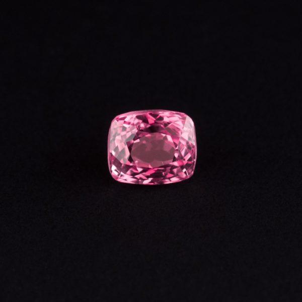 pink Spinel cushion cut