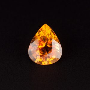 Yellow Tourmaline Teardrop 0.6ct