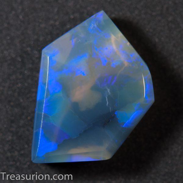 Dark Crystal Opal Freeform Cab 3ct