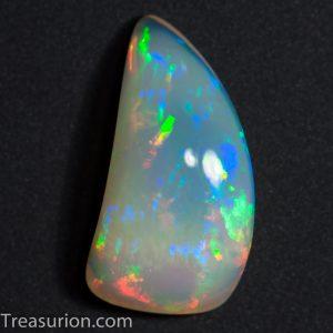 Multicolor Digit Pattern Welo Opal 8.8ct