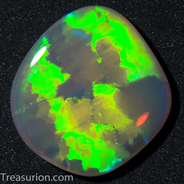 Green Mosaic Pattern Opal 3.1ct